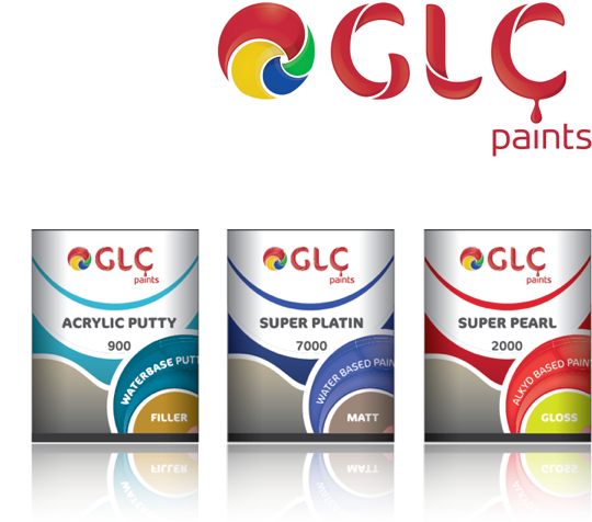 Glc paints launches new brand identity designed by stuff for International decor brands